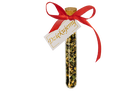 A thank you gift for guests – a bottle with a card, cork and herbal mix (1)